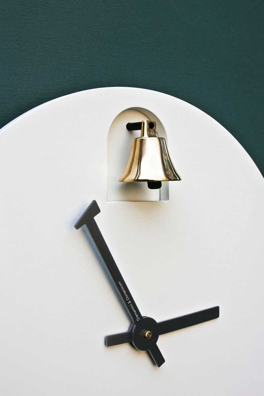 Dinn Wall Clock By Alessandro Zambelli Ideasgn Clock Wall Clock Clock Design