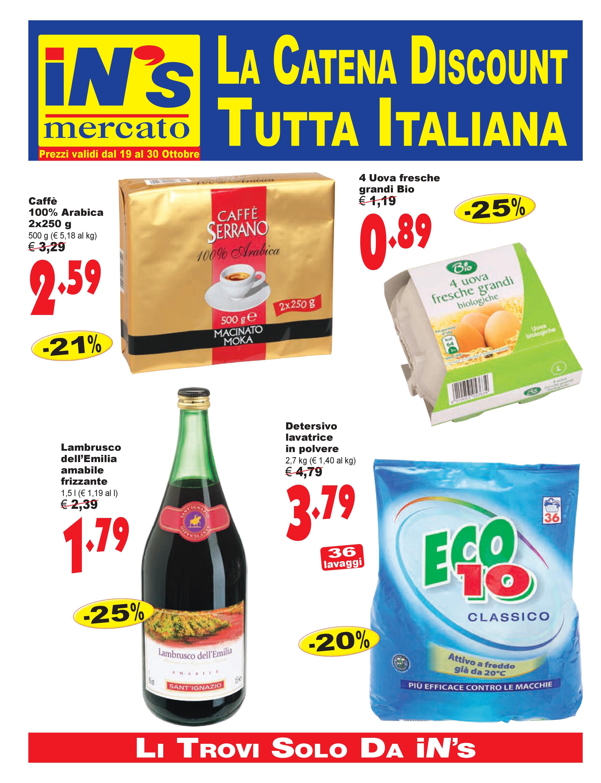 Volantino iN's Mercato - http://www.volantinoit.com/
