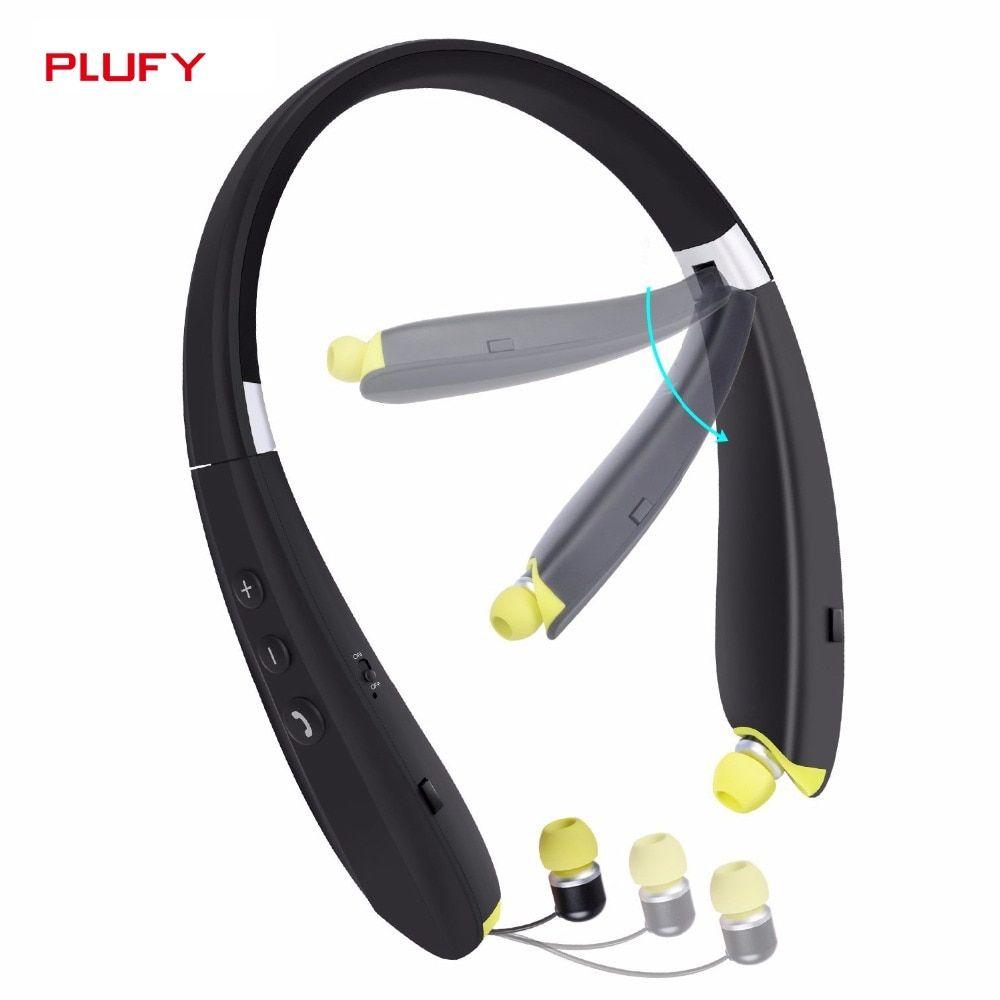 Plufy L28 Bluetooth Headset Dengan Gambar