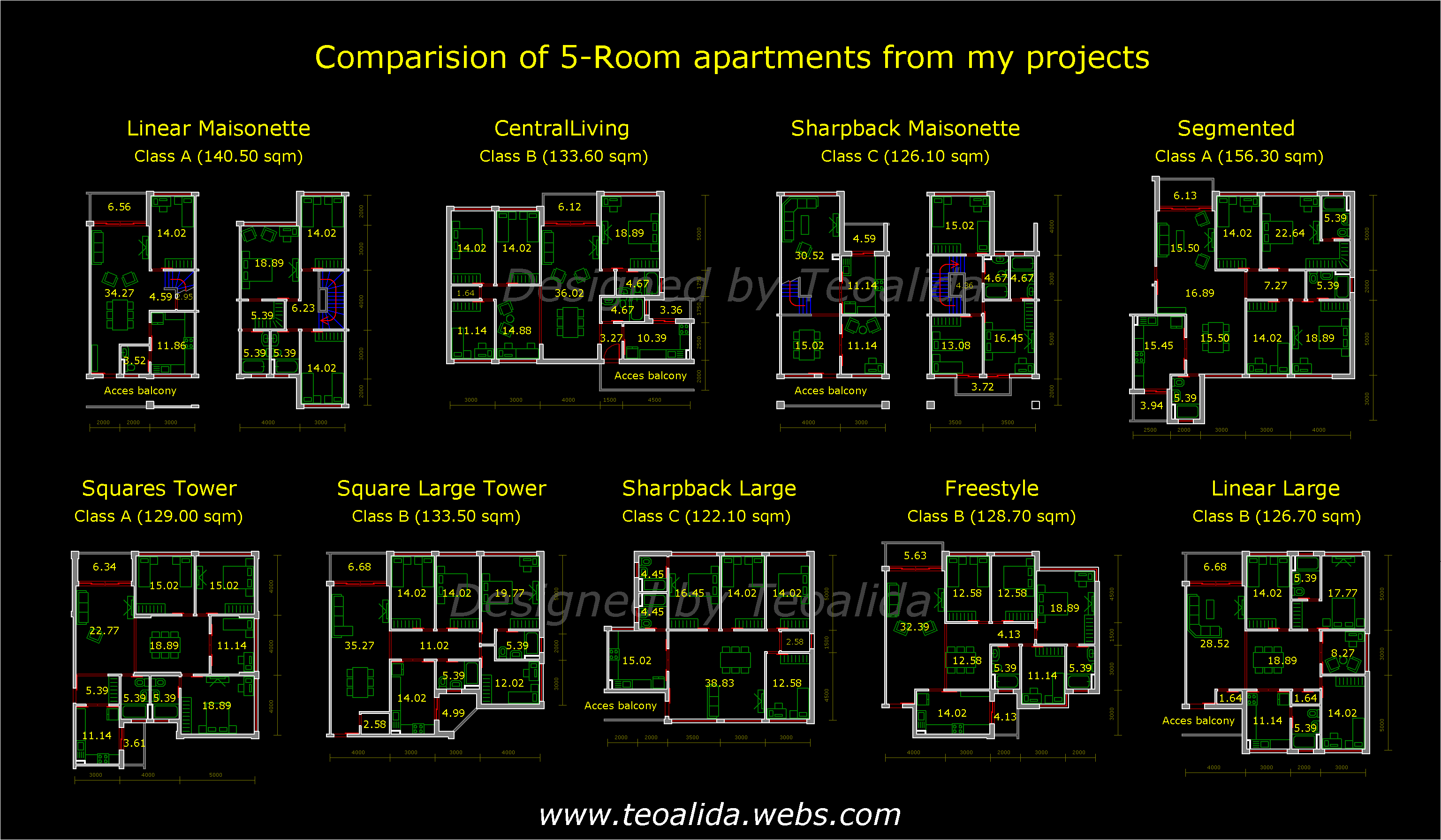 Apartment Plans 30 200 Sqm Architecture Design Services Teoalida Website Apartment Plans Condo Floor Plans How To Plan