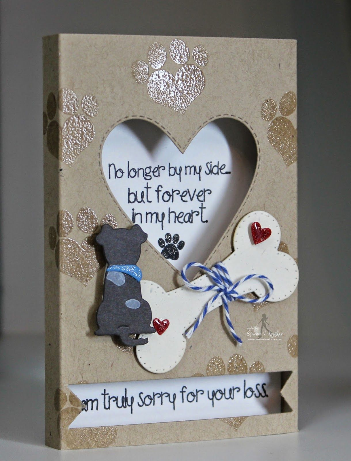 My Creative Time Try Me Tuesday Sympathy Cards Handmade Pet Sympathy Cards Cards Handmade