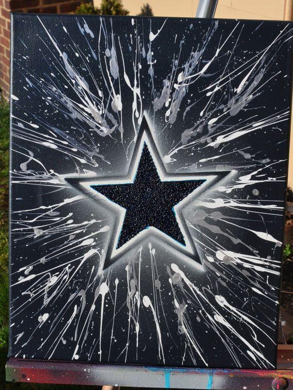 f828e599e6a Dallas Cowboys Nike AirMax by BlinginBlitz on Etsy. Description from ...