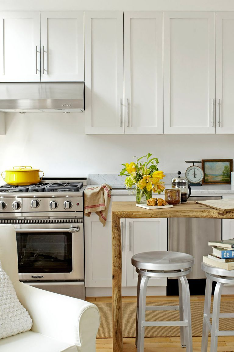 54 Clever Small Kitchen Ideas That Maximize Space In A Snap Small Kitchen Decor Studio Apartment Kitchen Tiny Kitchen Design
