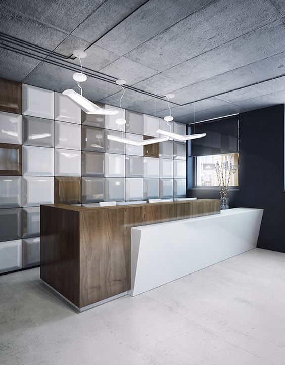 100+ Modern Reception Desks Design Inspiration   Page 9 Of 10   The  Architects Diary
