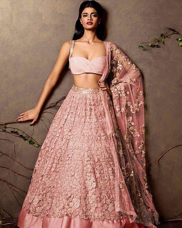 bridalwear #lenghas #indiancouture @shyamalbhumika | reception look ...