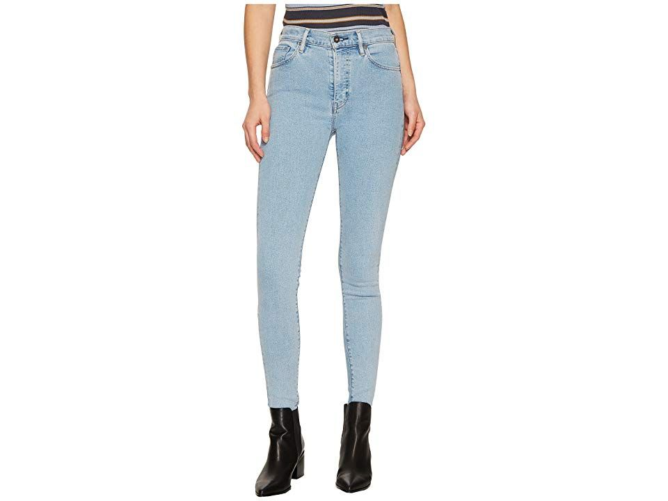 Levisr Premium Made Crafted Sliver High Skinny Tectonic Blue Womens Jeans Theres no stopping you in these Levis Premium Made Crafted Sliver High Skinny jeans Super slim f...