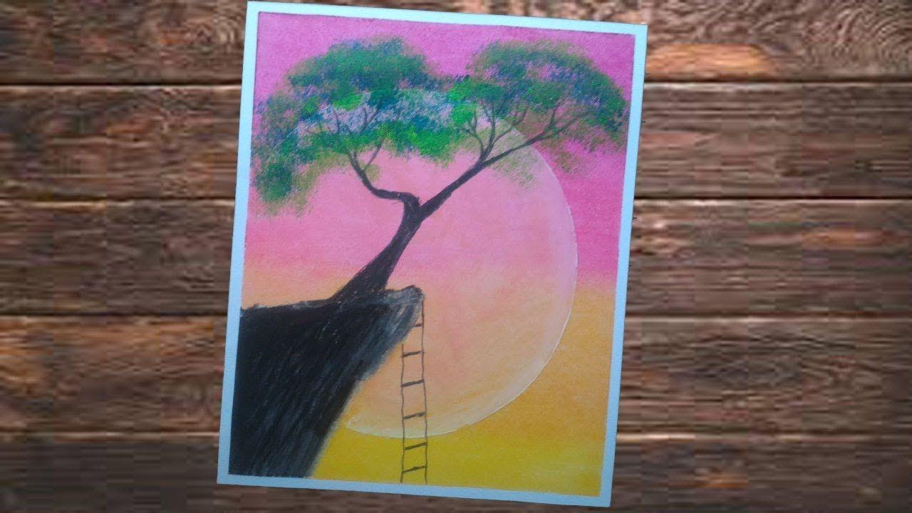 """Pemandangan Pohon Dan Tebing """"BEAUTIFUL SUNSET"""" Cara"""