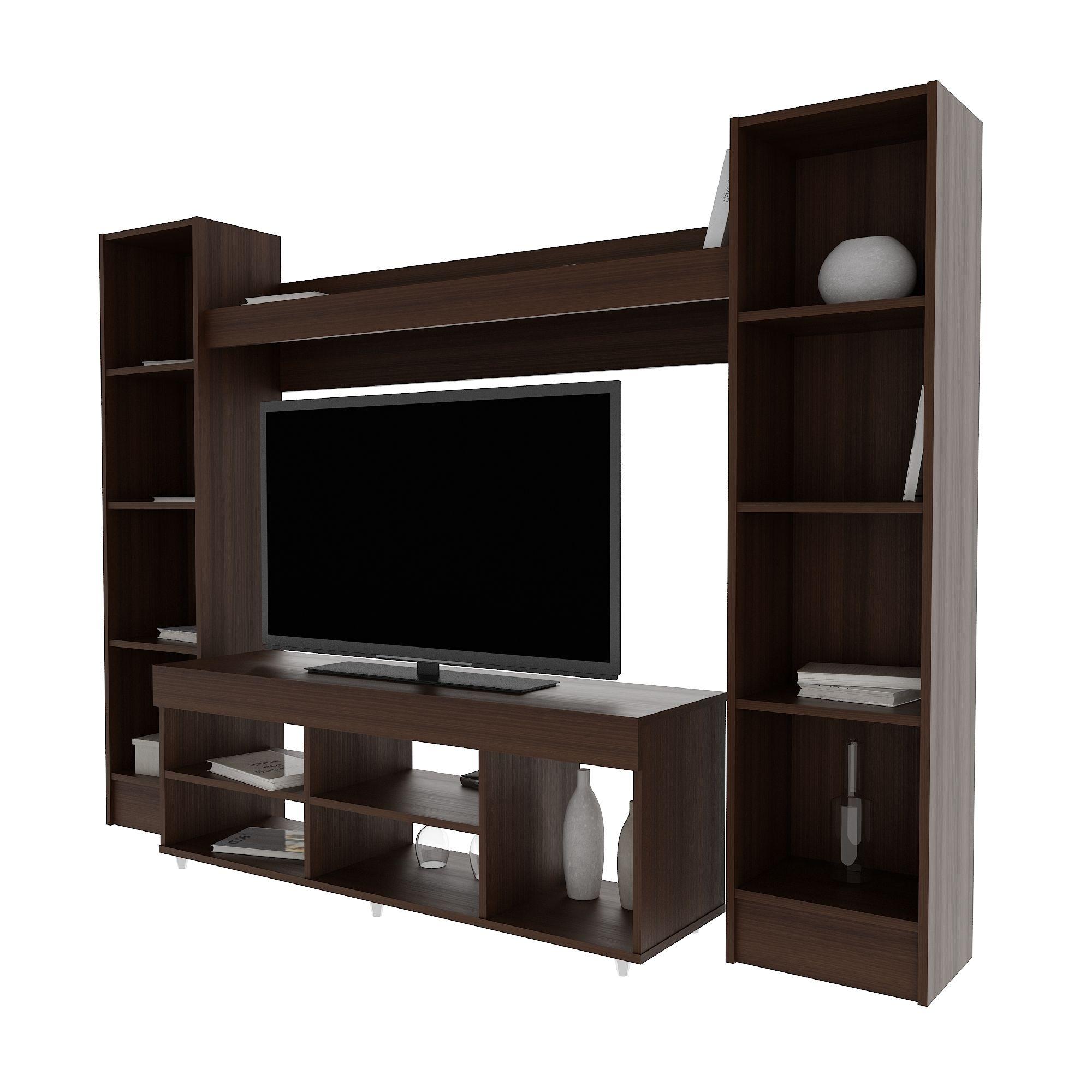 Espaciosos ideales para ubicar tv led de hasta 55 estos for Muebles para led 50 pulgadas