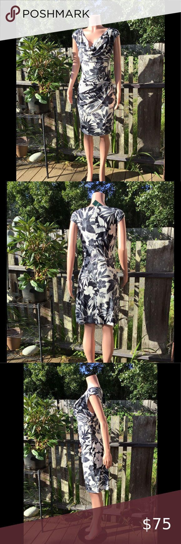 Nwt S Ralph Lauren Dress Fit And Flare Dress Ralph Lauren Dress Summer Dresses [ 1740 x 580 Pixel ]