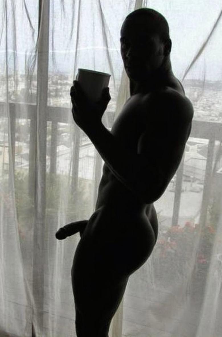 Silhouette penis nude