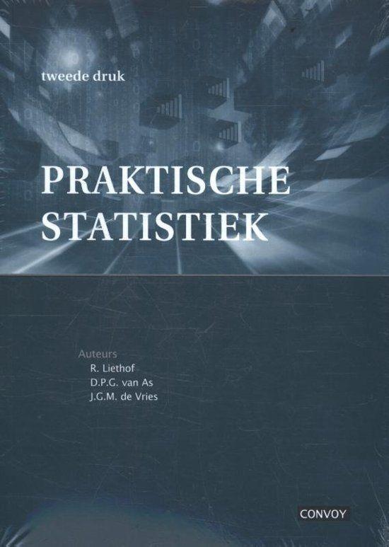 Praktische Statistiek Door R Liethof Praktische Statistiek