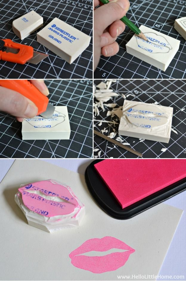 How To Make Your Own Stamps Make Your Own Stamp Crafts
