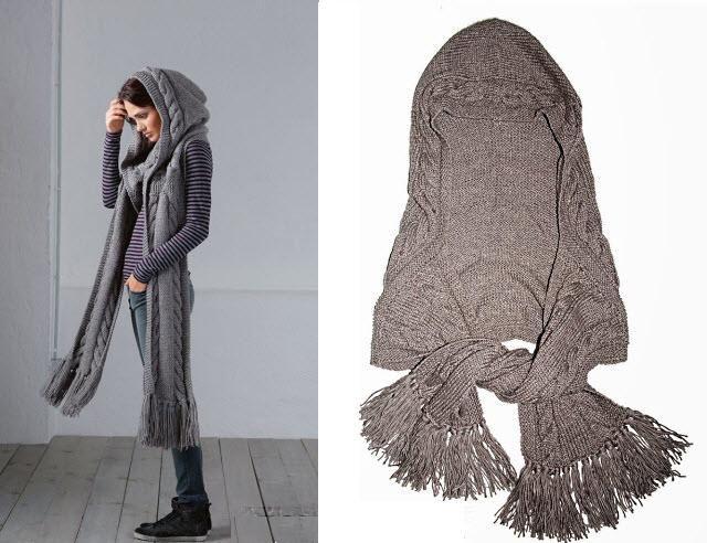 Beautiful Hooded Scarf Free Pattern Hooded Scarf Crochet Hooks