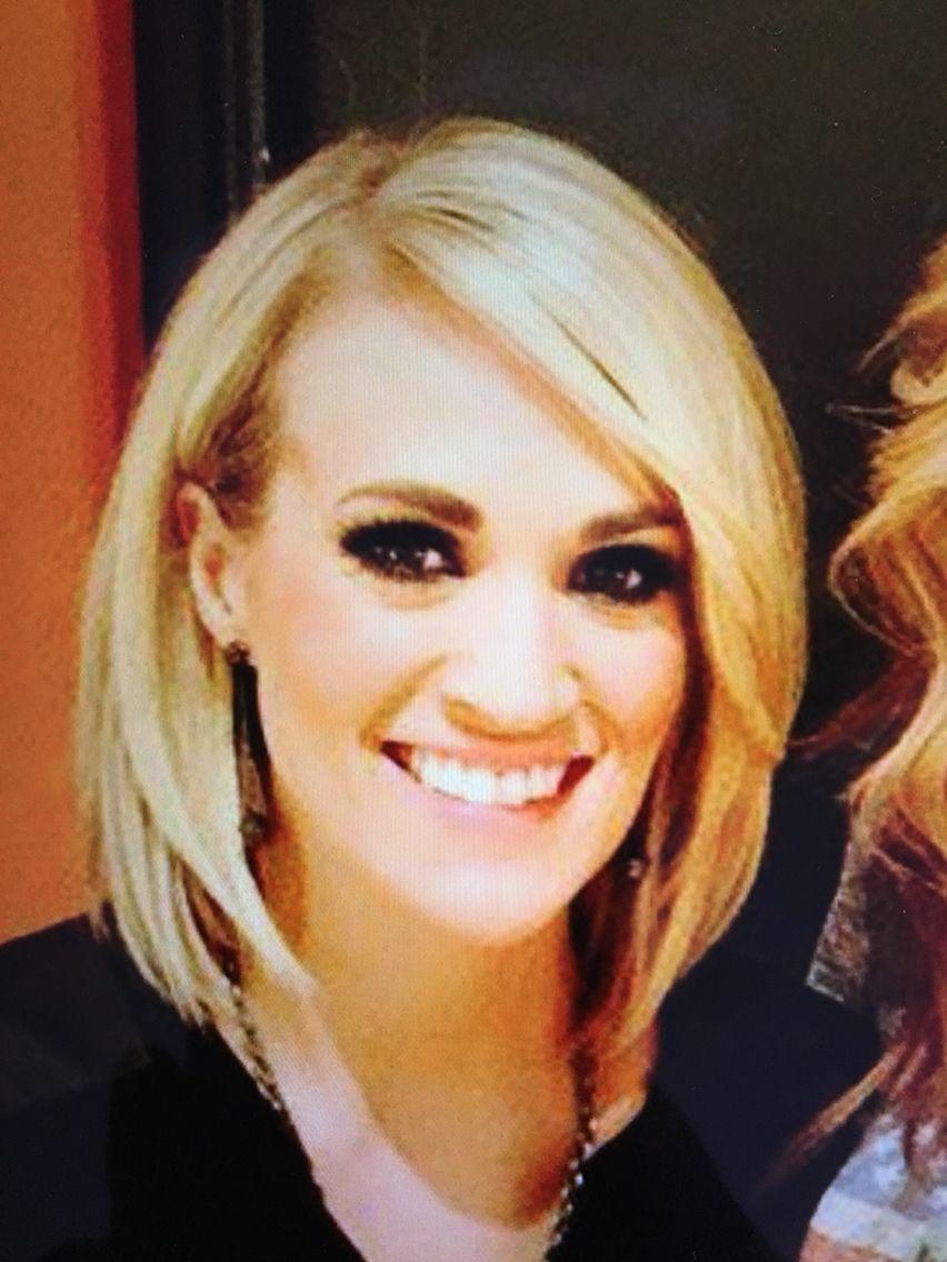 Carrie Underwood Medium Bob Hair Makeup Pinterest Carrie