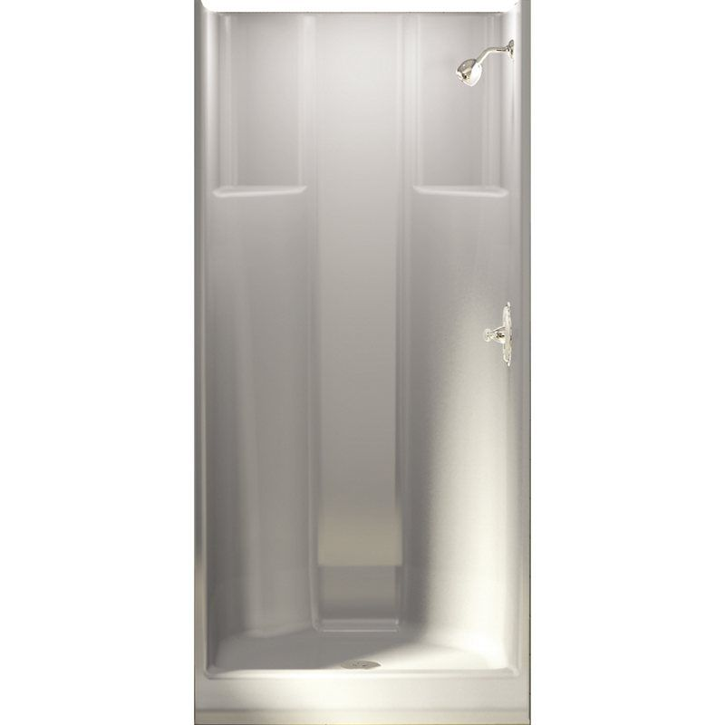 For downstairs bathroom. Mirolin 76-in H x 31-7/8-in W x 32-in L ...