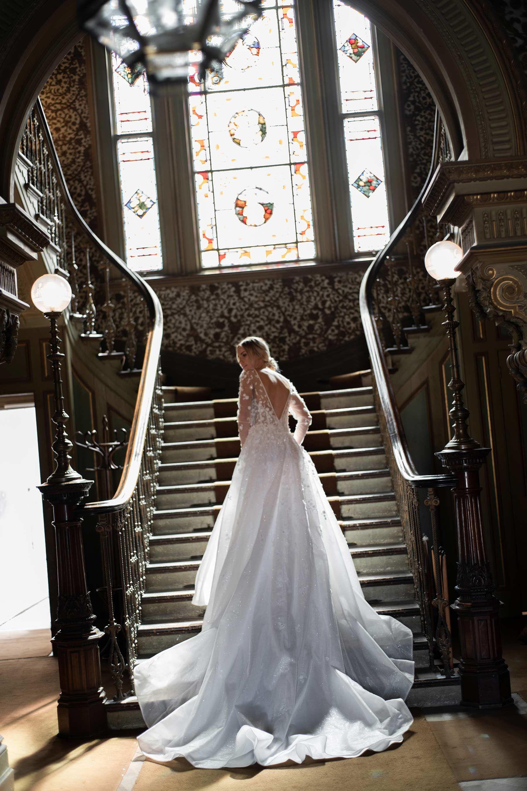 Danielle Aridi Modern Australian Bridal Designer In