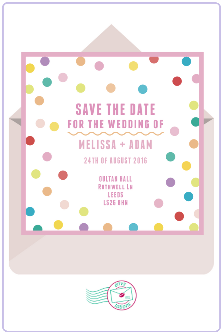Send Electronic Save the Date Cards to your guests - Free & Easy ...