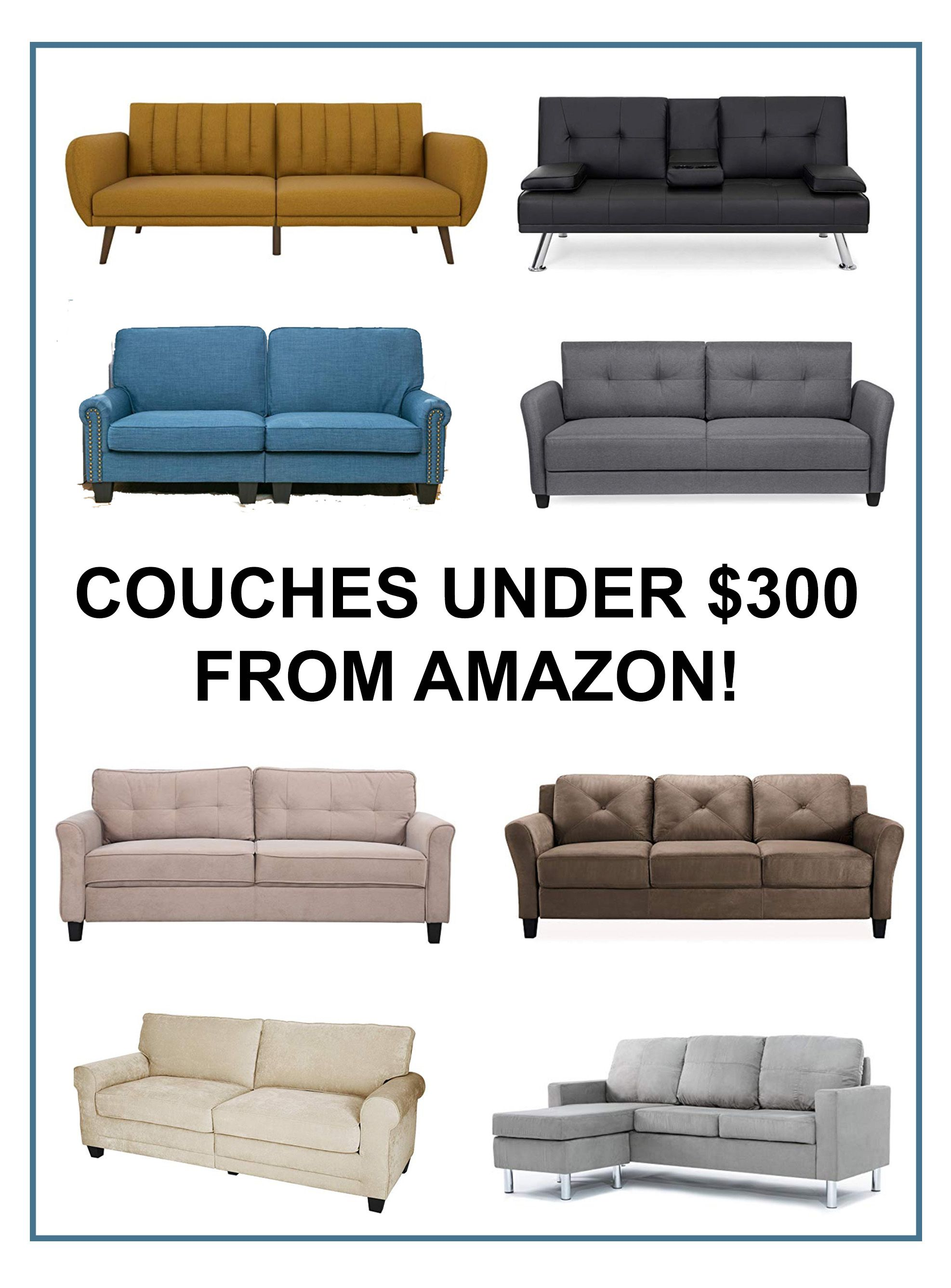 Couches Under 300 From Amazon Great Finds Couch Affordable Couch Cool Couches