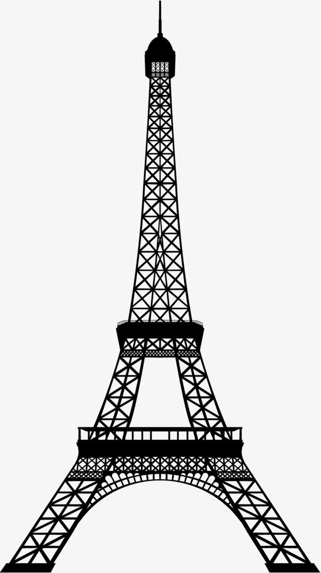 Torre Negra Eiffel Tower Silhouette Eiffel Tower Drawing Eiffel Tower Art