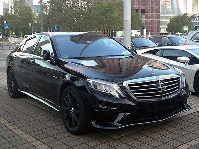 2014 Mercedes Benz S63 Amg L 4matic Black On Black Loaded Delivery