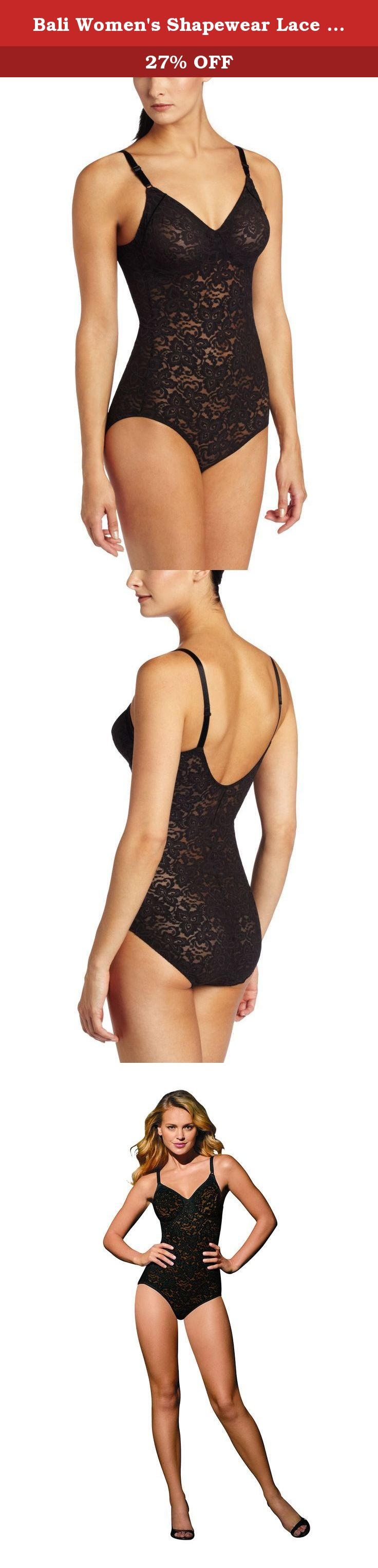 2d98184d6c56c Bali Women s Shapewear Lace  N Smooth Body Briefer