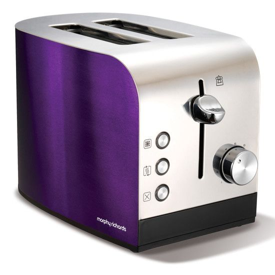 Morphy Richards Purple Kettle And Toaster Collection Dunelm Mill Toaster Red Toaster Morphy Richards