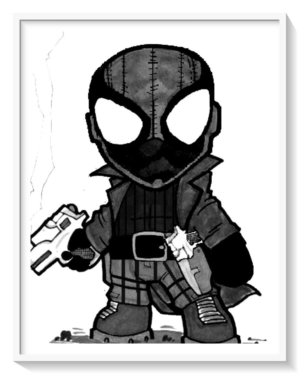 Los Más Lindos Dibujos De Spiderman Hombre Araña Para