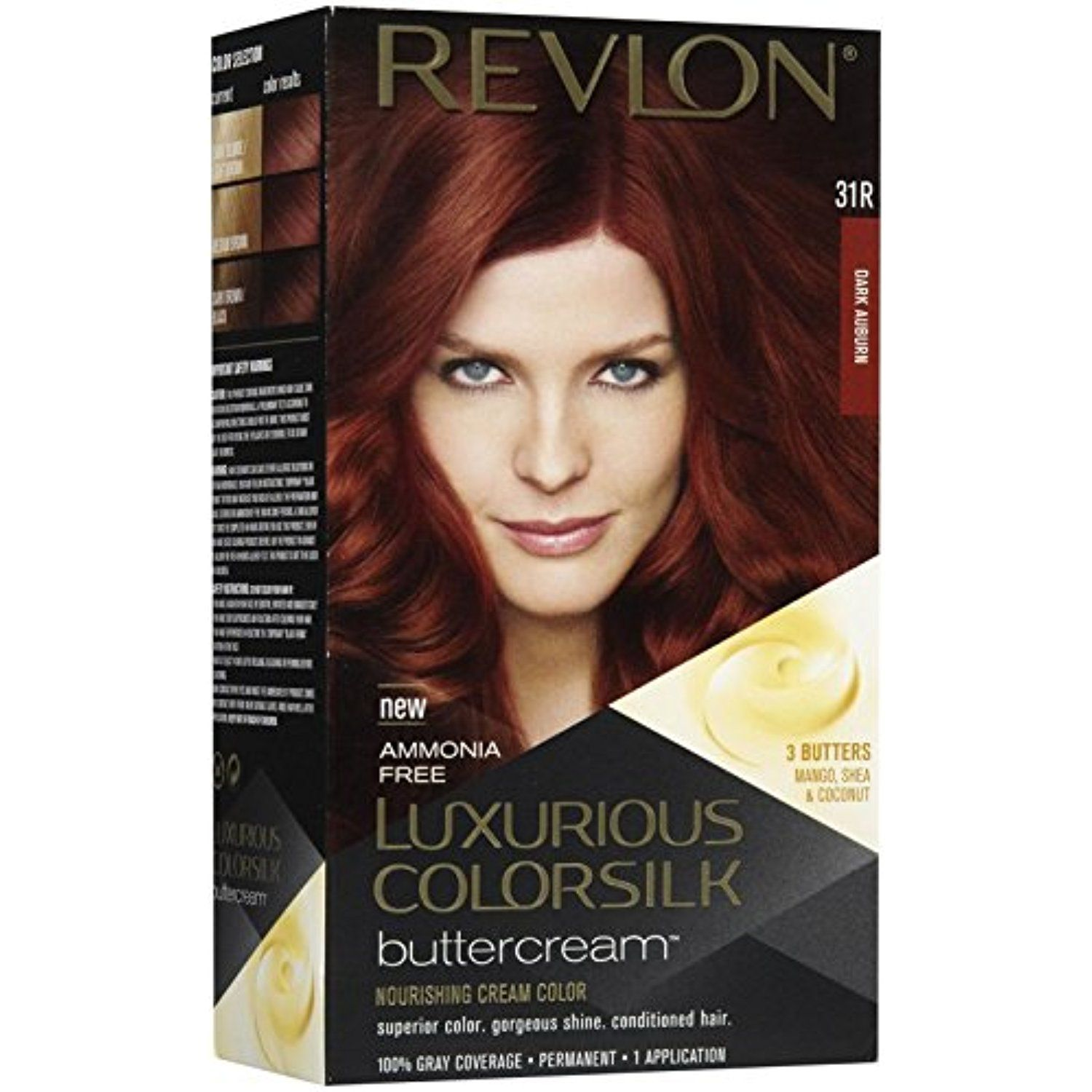 Revlon Colorsilk Luxurious Colorsilk Buttercream Dark Auburn