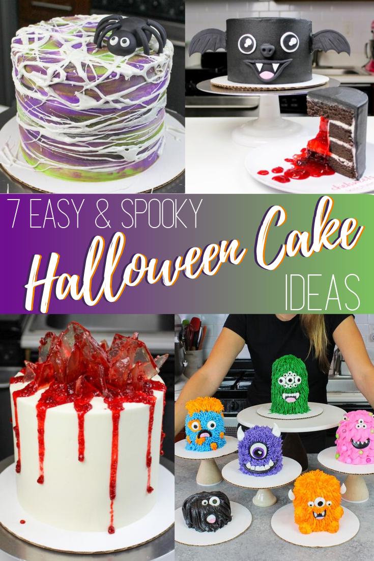 Halloween Cake Decorations   Easy cake decorating, Cake ...