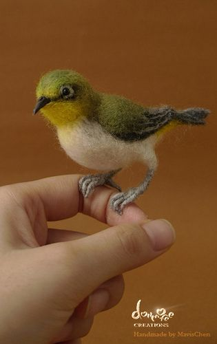 #70 Needle Felted Bird #feltbirds