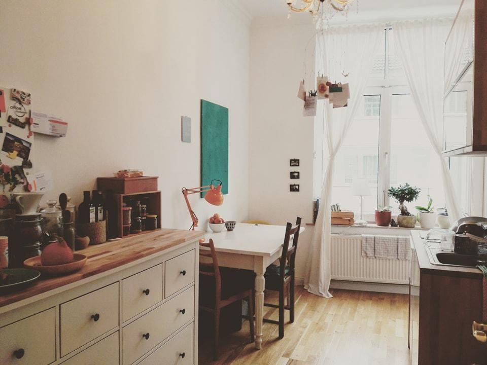Superschöne Altbauküche #einrichtung #küche #kitchen #Altbau - küchen von ikea