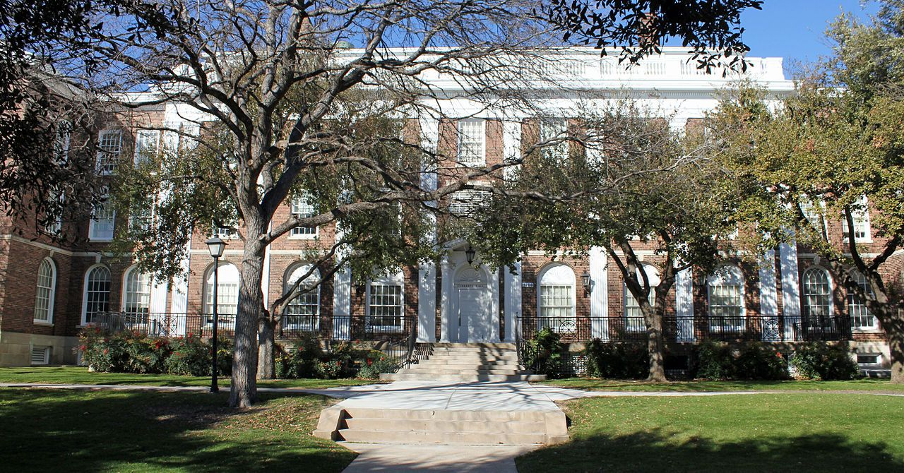 Clements hall on the southern methodist university campus