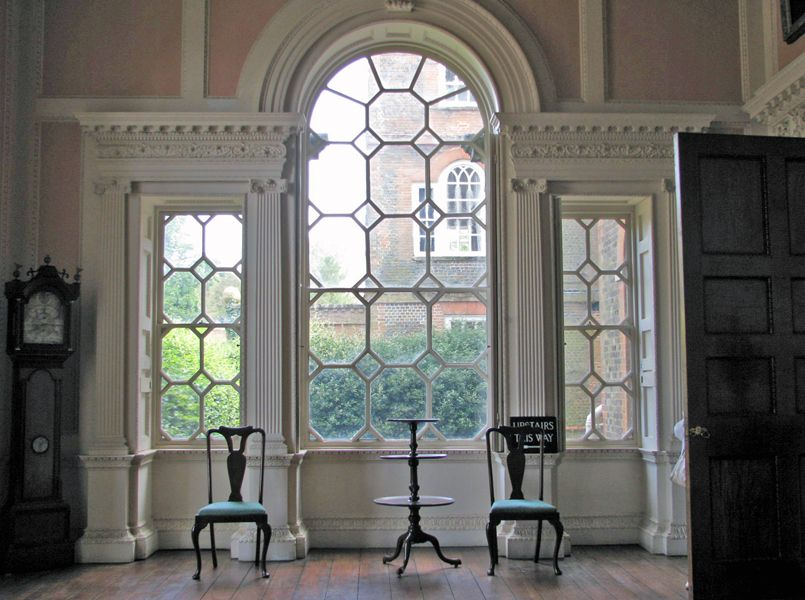 Palladian Window Claydon House Buckinghamshire Classical Interiors Pinterest Palladian