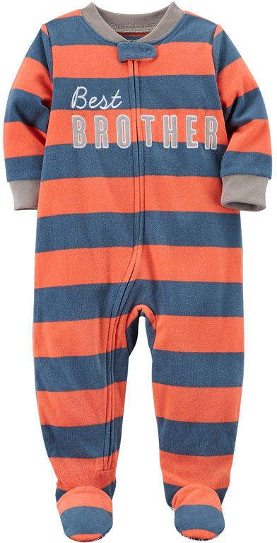 4d7045667 Carter's Long Sleeve One Piece Pajama-Baby Boys | Matthyew&Rileigh ...