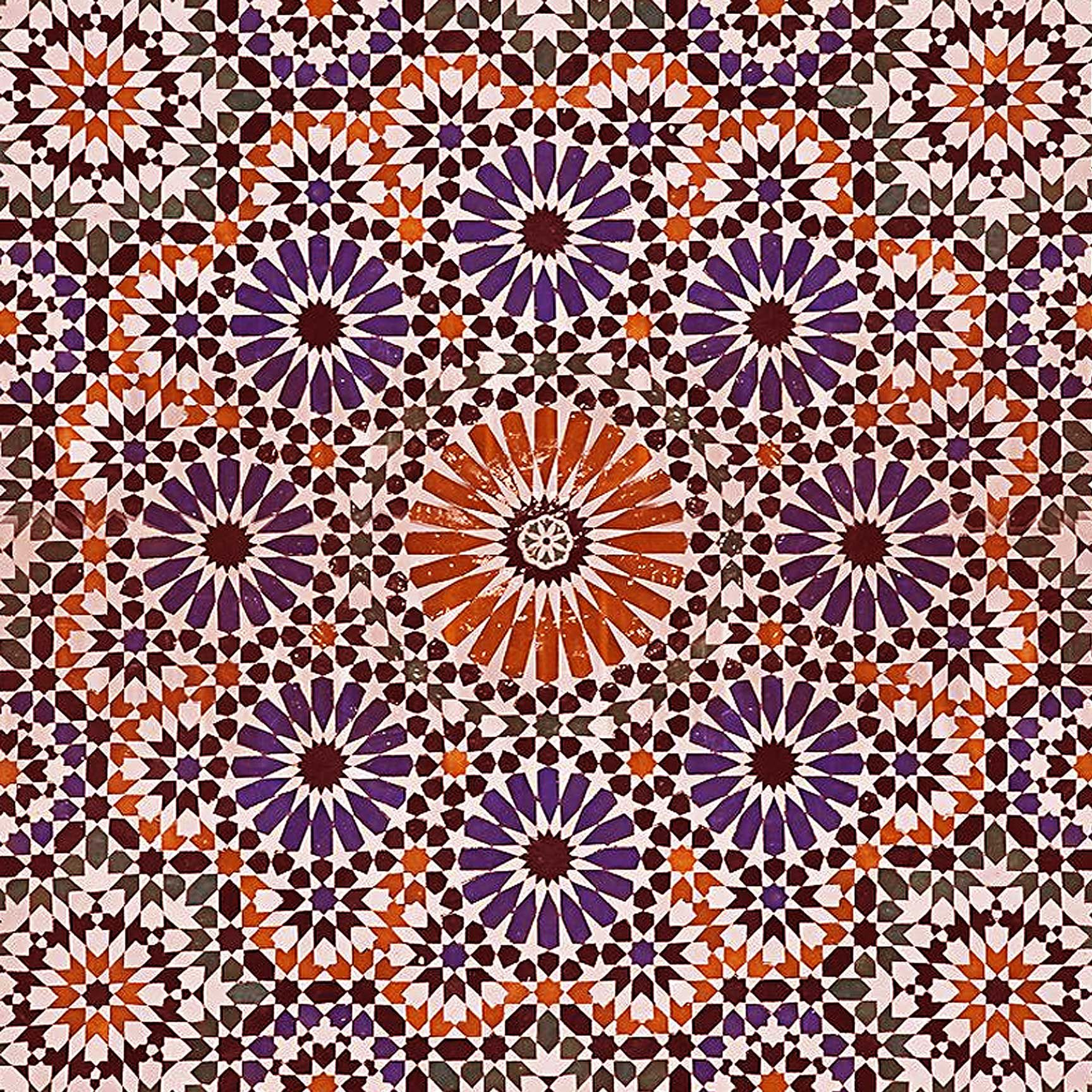 Morocco Mosaic Printed Ceiling Tile