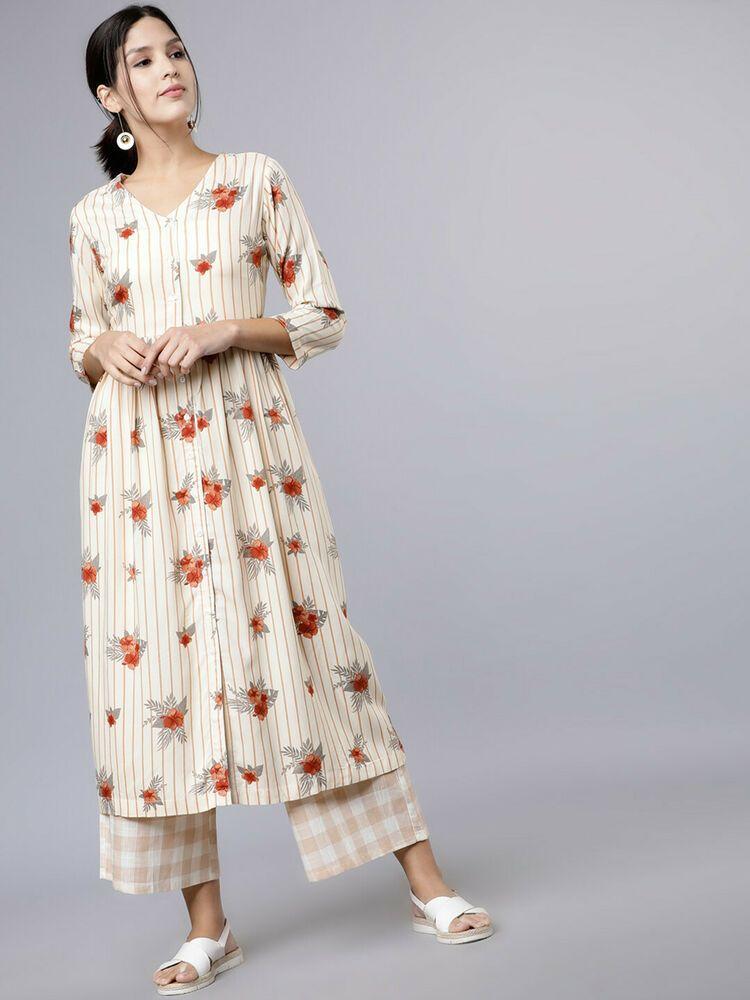 Indian Women Kurti Kurta Top Tunic Bottom Dress Designer Ethnic Salwaar Kameez