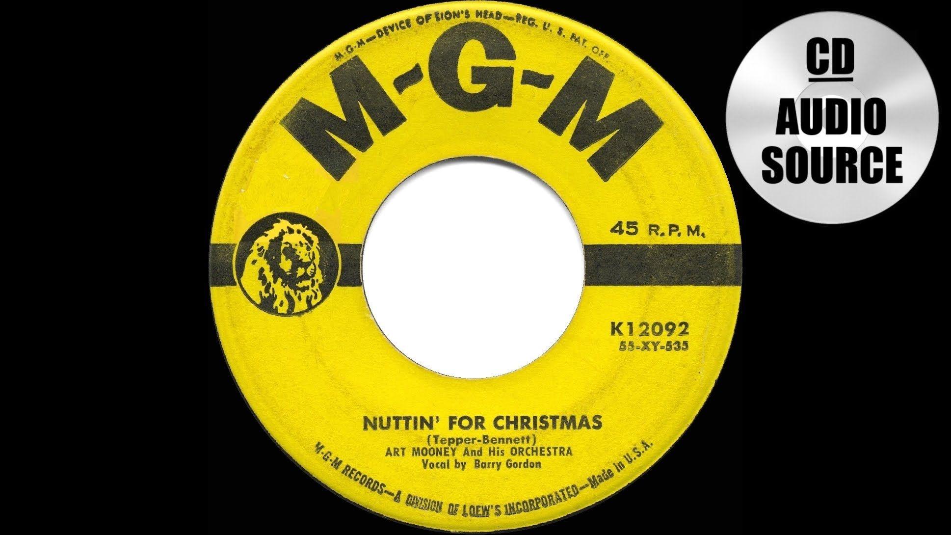 1955 HITS ARCHIVE: Nuttin\' For Christmas - Art Mooney & Barry Gordon ...