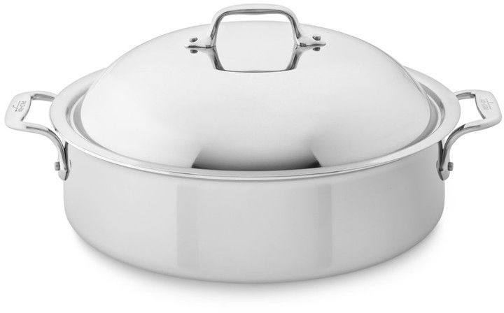 All-Clad Tri-Ply Stainless-Steel 6-Qt. Braiser with Rack - $239.95