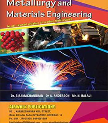 Metallurgy And Materials Engineering Pdf Engineering Science