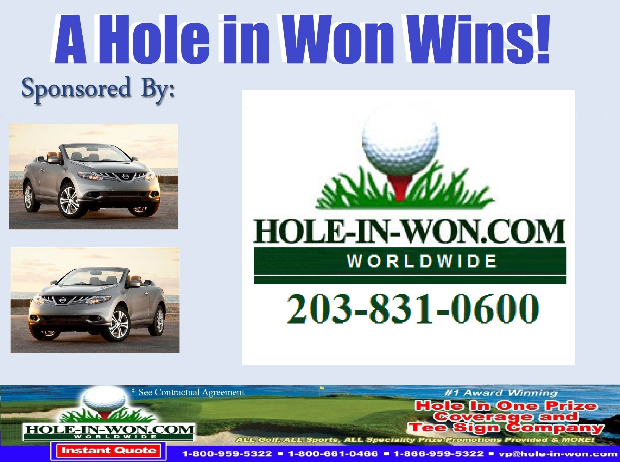 Nissan Hole In One Insurance Nissan Promotions Nissan Contest