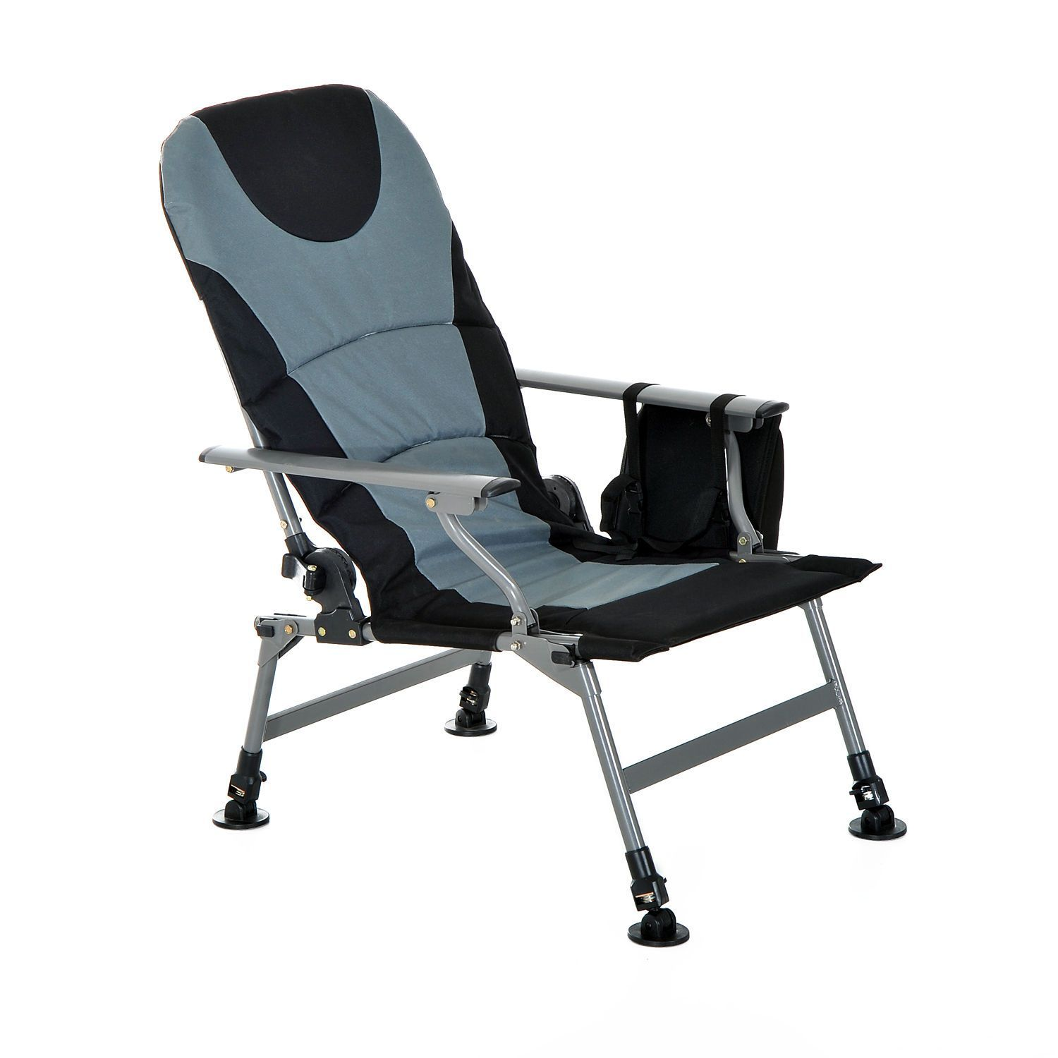 Outsunny Fishing Chair Hiking Camping Lounge Folding Chairs
