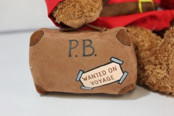 Paddington come with his iconic suitcase!