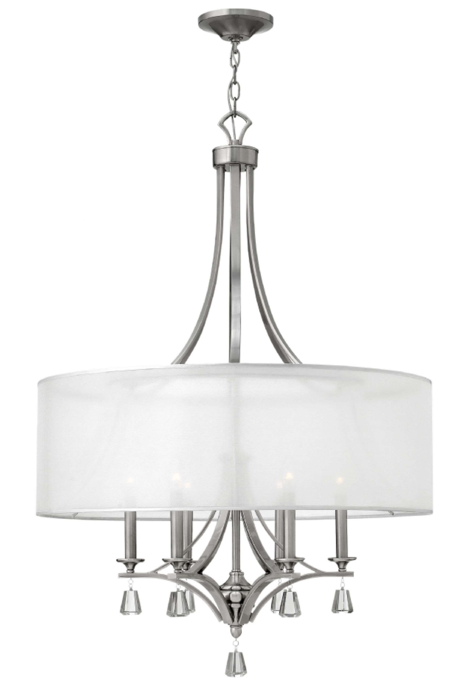 Hinkley lighting carries many brushed nickel mime chandeliers light hinkley lighting carries many brushed nickel mime chandeliers light fixtures that can be used to aloadofball Gallery