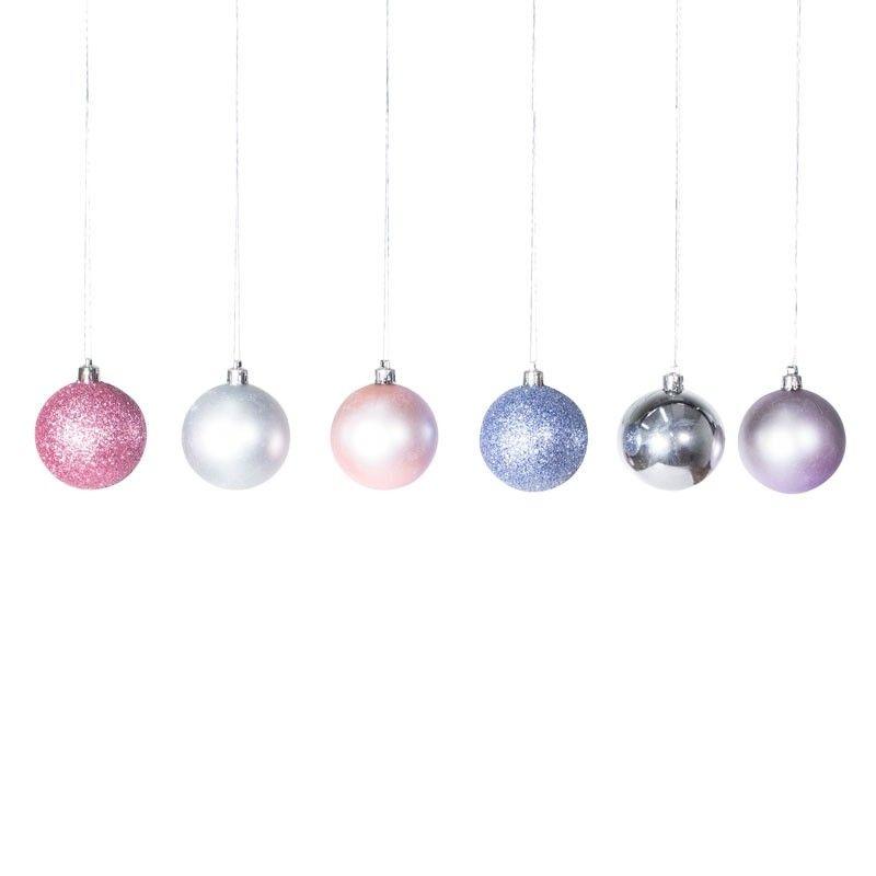 Ball Ornaments Ball Ornaments Sparkle Ball Ornament Set
