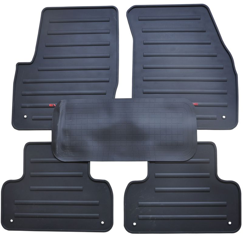 New Genuine Dedicated Front Rear Floor Slip Resistant Rubber Mats For Land Rover Range Rover Evoque With Images Interior Accessories Range Rover Evoque Interior