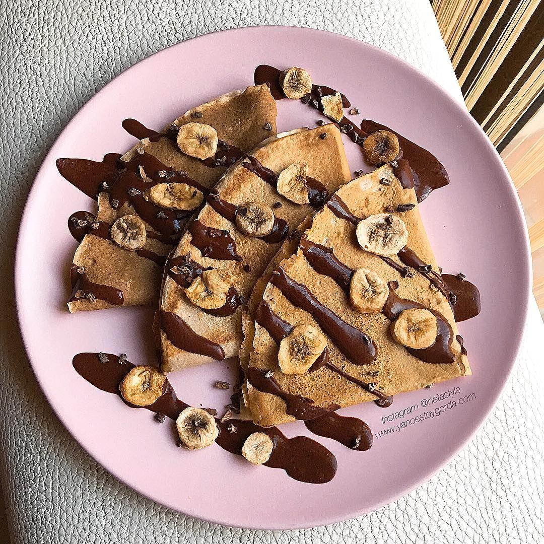 Crepes De Avena Maca Y Canela Con Sirope De Cacao Crepes De Avena Receta De Macaron Torta Saludable