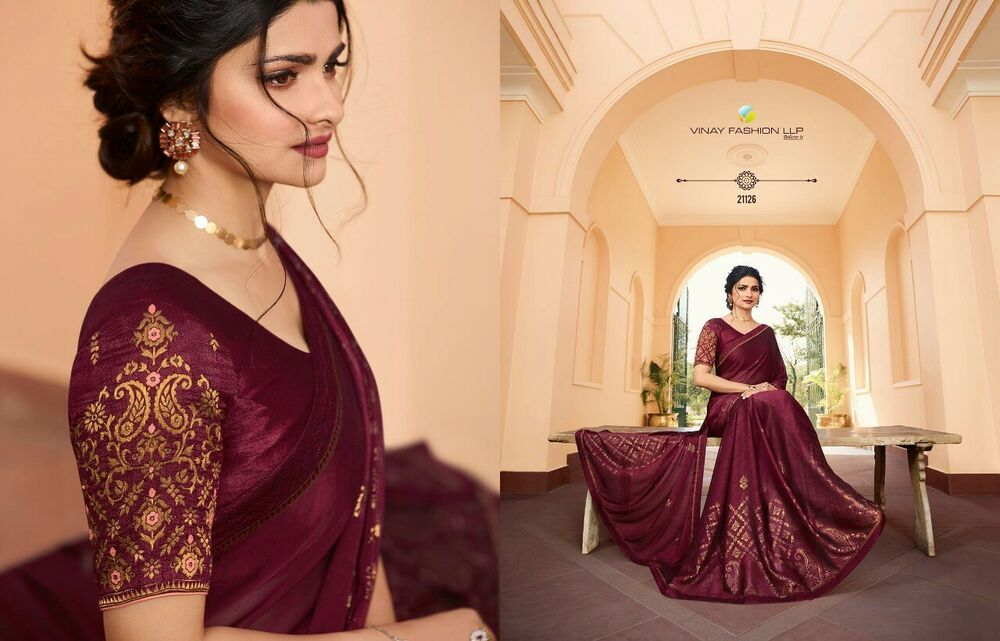 Saree Blouse For Women Indian Designer Party Sari Embroidery