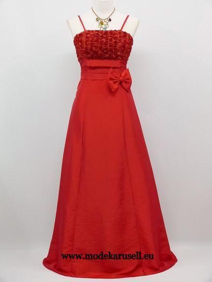 Bordo rote lange kleider