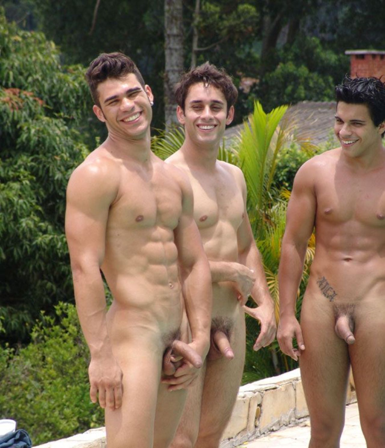 gay hunks chicas relax