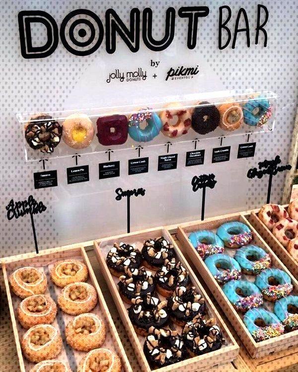 30 Best Wedding Donut Walls amp Displays